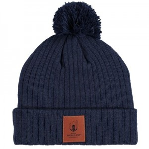 Rugby World Cup 19 Webb Ellis Bobble Hat - Navy