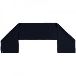England Ribbed Cashmere Scarf - Navy - Adult
