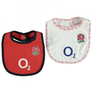 England 2019/20 Kit 2 Pack Bibs - White/Red