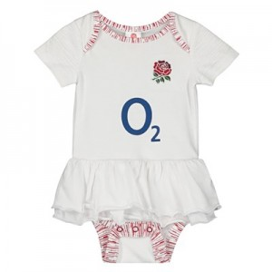 England 2019/20 Kit Tutu Bodysuit - White