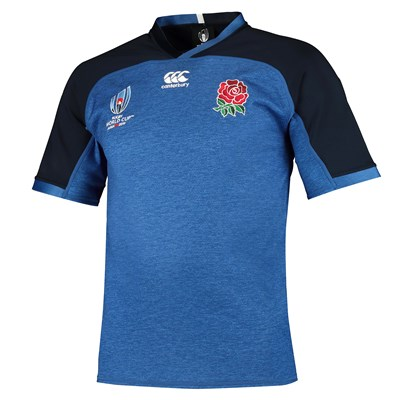 England RWC 2019 Vapodri Pro Training Shirt - Blue