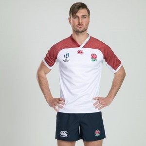 England RWC 2019 Vapodri Pro Training Shirt - White