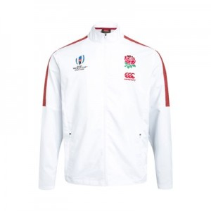 England RWC 2019 Vaposhield Anthem Jacket - White
