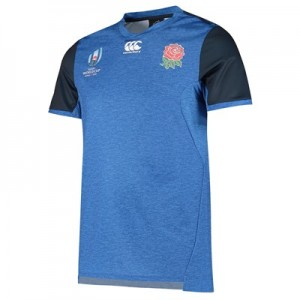 England RWC 2019 Vapodri+ Drill T-Shirt - Blue