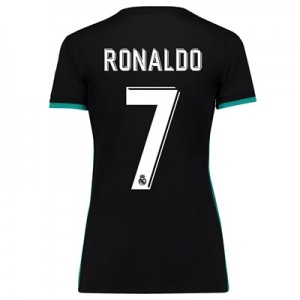 Real Madrid Away Shirt 2017-18 - Womens with Ronaldo 7 printing