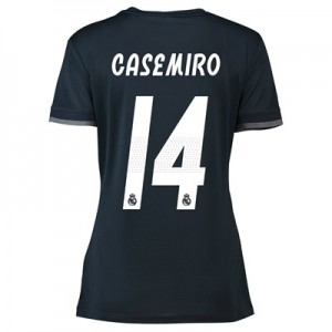 Real Madrid Away Shirt 2018-19 - Womens with Casemiro 14 printing