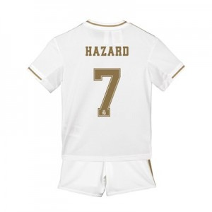 Real Madrid Home Mini Kit 2019 - 20 with Hazard 7 printing