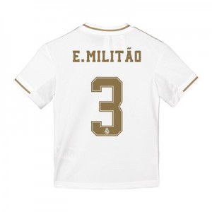 Real Madrid Home Shirt 2019-20 - Kids with E. Militão 3 printing