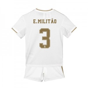 Real Madrid Home Mini Kit 2019 - 20 with E. Militão 3 printing