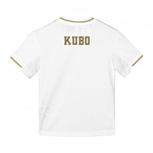 Real Madrid Home Shirt 2019-20 - Kids with Kubo TBC printing