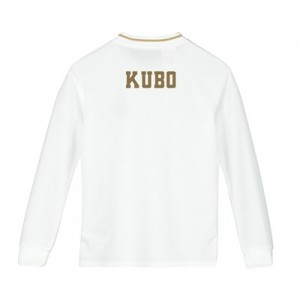 Real Madrid Home Shirt 2019-20 - Long Sleeve - Kids with Kubo TBC printing
