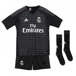 Real Madrid Home Goalkeeper Kids Kit 2018-19