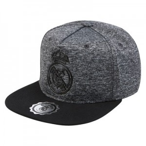 Real Madrid Crest Snapback - Grey - Mens