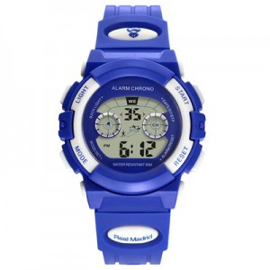 Real Madrid Digital Watch - Blue - Junior