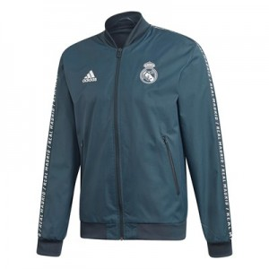 Real Madrid Anthem Jacket - Grey
