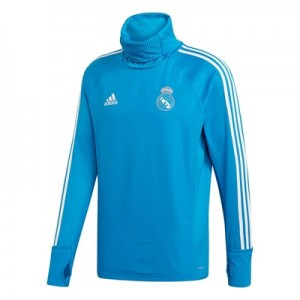 Real Madrid Training Warm Top - Blue