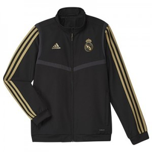 Real Madrid Presentation Jacket - Black - Kids