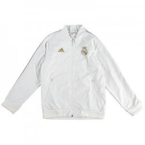 Real Madrid Anthem Jacket - White - Kids