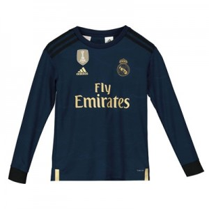 Real Madrid Away Shirt 2019 - 20 - Kids - Long Sleeve