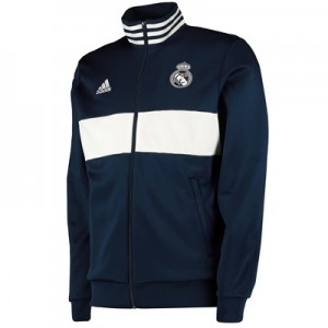 Real Madrid 3 StripesTrack Top - Navy