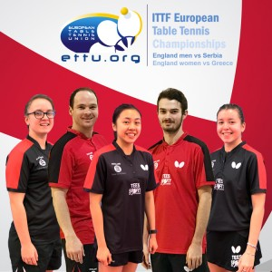 European Team Championships Stage One England men vs Serbia & England women vs Greece