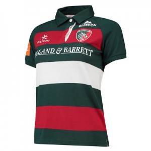 Leicester Tigers Home Classic Shirt Short Sleeve 2018/19 - Womens