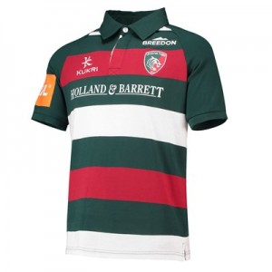 Leicester Tigers Home Classic Shirt Short Sleeve 2018/19 - Junior