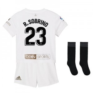 Valencia CF Home Mini Kit Gold Edition 2018-19 with R. Sobrino 23 printing