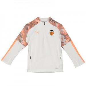 Valencia CF Training Fleece - White - Kids