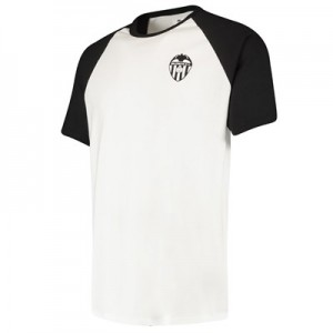 Valencia CF Ringer T-Shirt - White/Black - Mens